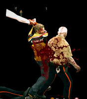Dead rising Mannequin Male Right Leg attacking (4)