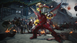 Dead rising 3 nick in chinese dragon costume