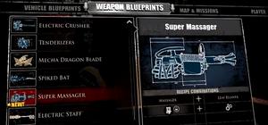 Super Massager Blueprint