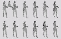 Dead rising 2 Off the Record concept art from main menu art evil stacey (5)