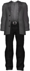 Dead rising Man in Black Outfit