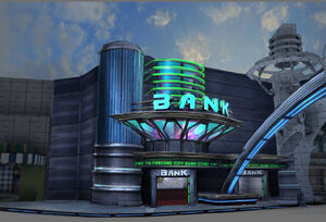 Dead rising 2 Off the Record concept art from main menu art page BANK URANUS ZONE