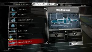 Mini Chainsaw Blueprints