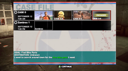 Dead rising 2 Case 0 case file 0-4