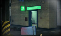 Dead rising A4 restroom next to