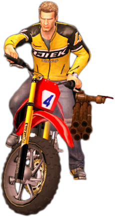 Dead rising bazooka bike main