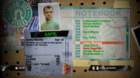 Dead rising lenny notebook