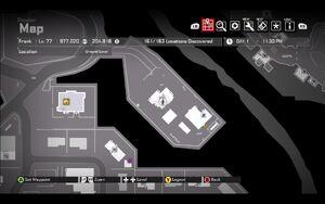 Cell Phone Bathroom Hudson's Farm Map
