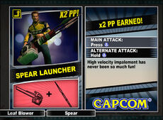 Dead rising 2 combo card Spear Launcher
