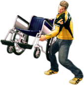 Dead rising wheelchair main