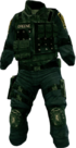 Dead rising Swat Outfit