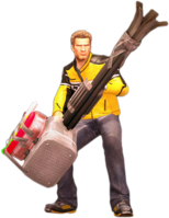 Dead rising super massager holding