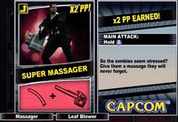 Dead rising 2 combo card Super Massager