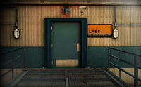Dead rising secured labs entrance