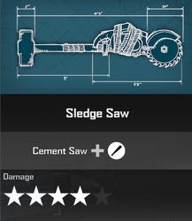 Sledge Saw Blueprint 2
