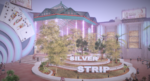 Dead rising 2 silver strip sign