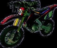 Dead rising Machine Gun Bike