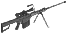Dead rising case 0 Barrett M82