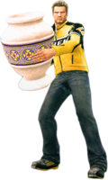 Dead rising large vase holding