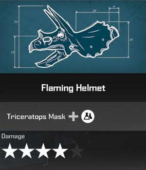 Flaming Helmet DR4 Blueprint