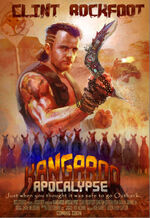 Dead rising 2 off the record clint rockfoot poster kangaroo apocalypse
