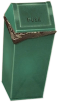 Dead rising Metal Garbage Can 2