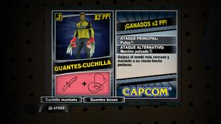 Combo DR2 - Guantes-Cuchilla