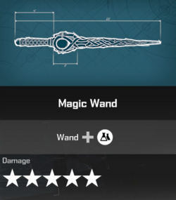Magic Wand Blueprint 2