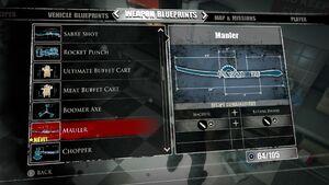 Mauler Blueprints