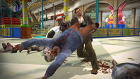 Dead Rising swining zombie in wonderland plaza destructoid com