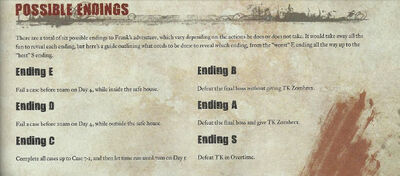 Dead rising off the record endings official guide
