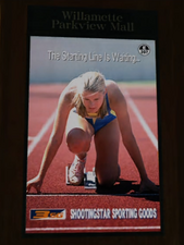 Shootingstar Sporting Goods Ad