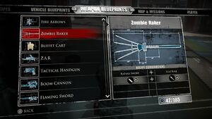 Zombie Raker Blueprints 2