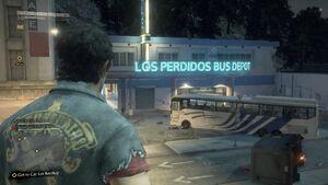 Los Perdidos Bus Depot