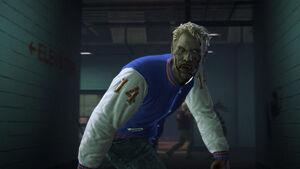 Dead rising 2 zombie letterman jacket