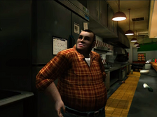 Dead rising restaurant man