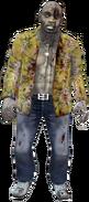 Dead rising zombie hawian hunting knife