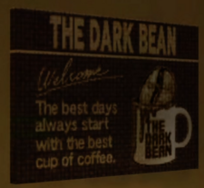The Dark Bean Sign