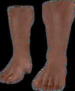 Dead rising Bare Feet