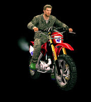 Dead rising machinegun bike holding