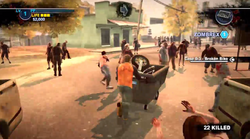 Dead rising 2 Case case 0-3 utility cart pushing 05 green house