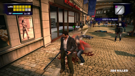 Dead rising barricade pair killing aaron