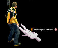 Dead rising Mannequin Female name