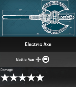 Electric Axe DR4 Blueprint