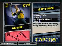 Dead rising 2 combo card Defiler