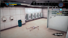 Dead rising 2 looters spray painted robbed