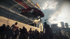 Dead rising 3 vehicle jumping