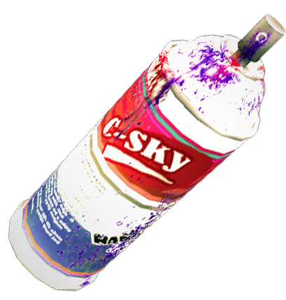 Dead Rising  Paint Cans