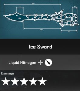 Ice Sword DR4 Blueprint