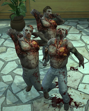 Dead rising gas zombies in nvidia debug mode